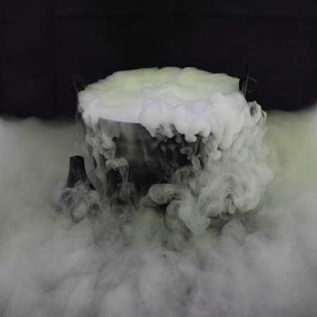 Scary Witch's Cauldron Using Dry Ice - Perfect Halloween Prop Ideas