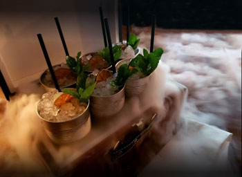 Dry Ice Cocktails With Friends Image