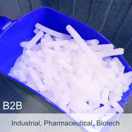 Dry Ice 3mm Blast | Cold Chain Logistics | NHS | Medical Research | Bio Sciences
