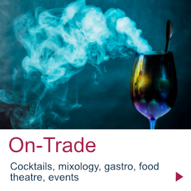 Dry Ice | On-Trade | Dry Ice Drinks and Cocktails | Themed Ice Events